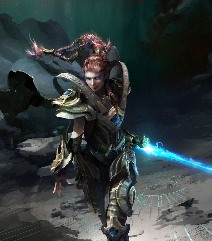 Queen of blades. An alternate history, where Kerrigan was captured by the Protoss instead of the Zerg. Art by: tnounsy[2] @ deviantART