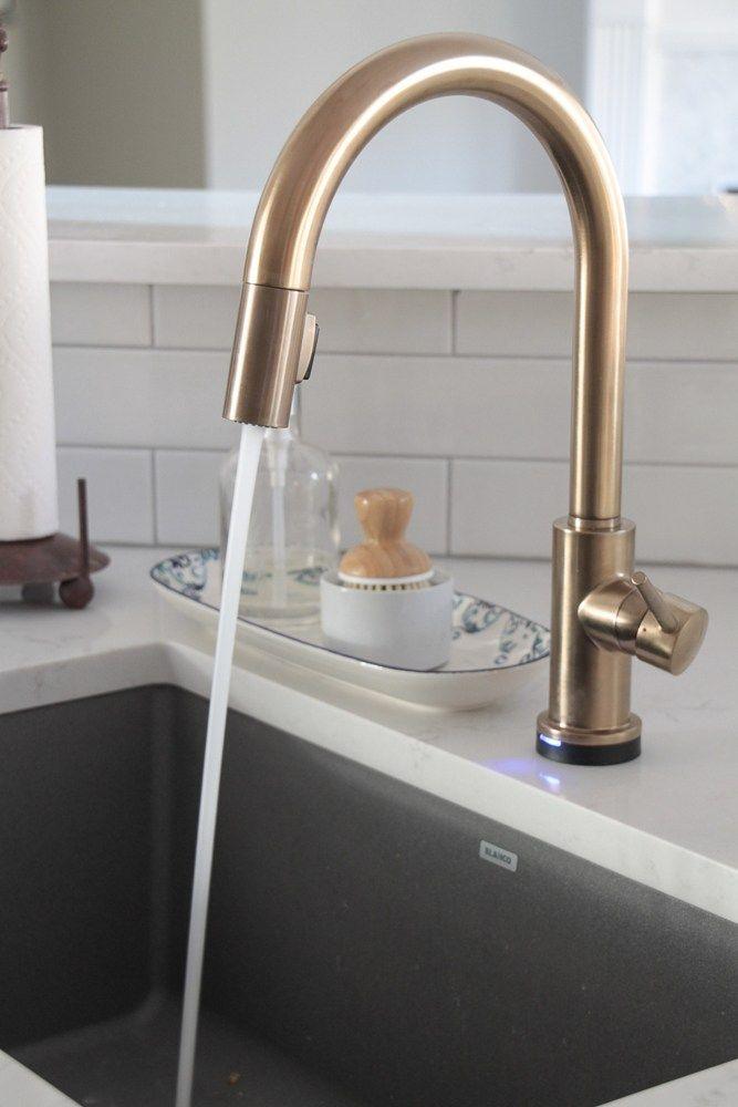 The Kitchen Bling Gold Faucet Gold Faucet Gold Kitchen Faucet