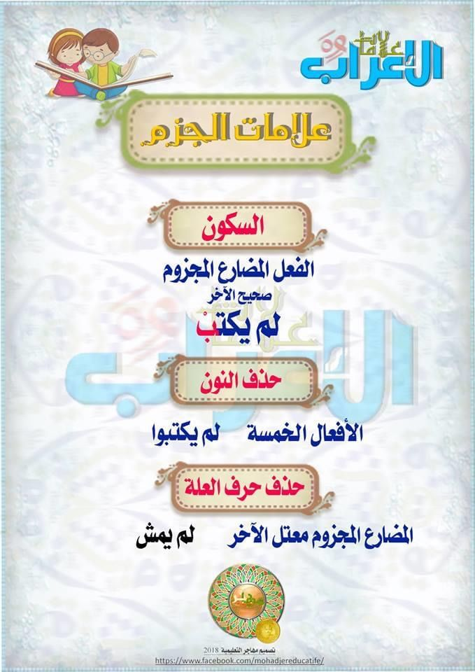 Pin By Soso On علامات الإعراب Arabic Language Free Pdf Books Language