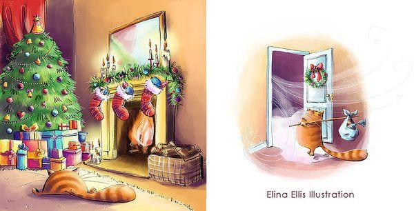 14- Mignonnes illustrations de Elina Ellis