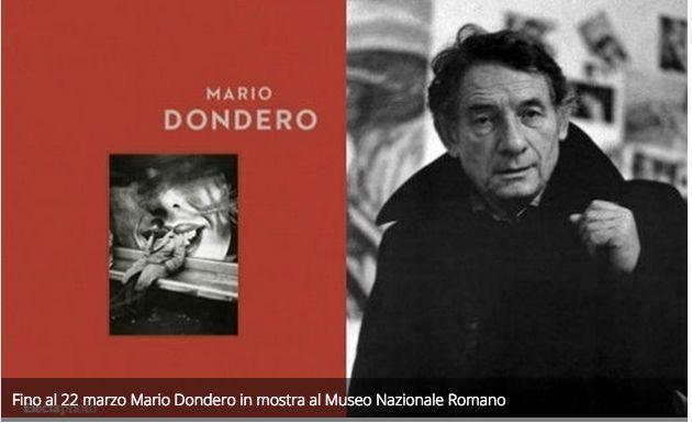 Fino al 22 marzo Mario Dondero in mostra al Museo Nazionale Romano.