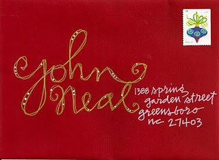 So want to do my envelopes like this, Next Year! from Pushing the Envelopes
