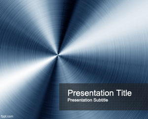 Blue Steel PowerPoint Template is a nice background template for Microsoft PowerPoint presentations that you can download and use as an abstract background but also for metallurgical sector
