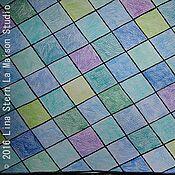 Картины и панно ручной работы. Ярмарка Мастеров - ручная работа Атлантический океан  30 х 42 см графика для оформления дома без рамы. Handmade.