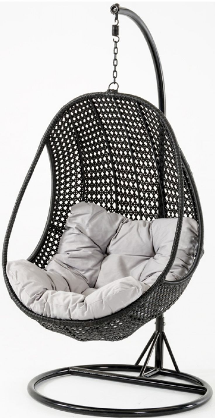 Sardinia Rattan Pod Hanging Chair Comfortable bedroom