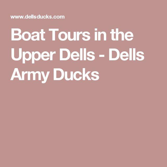 Boat Tours in the Upper Dells - Dells Army Ducks