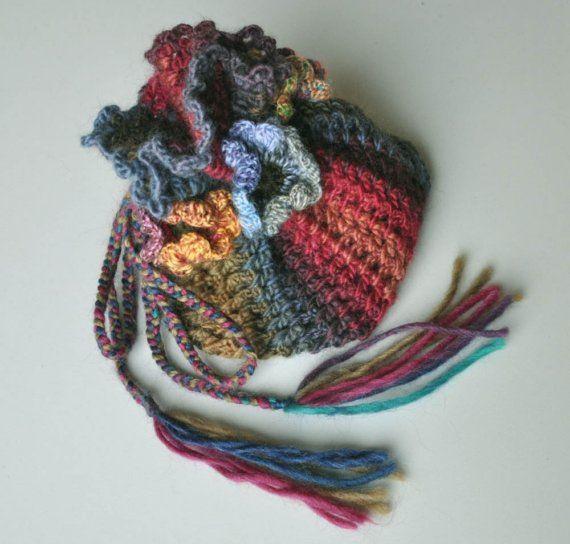 Crochet flowers hat