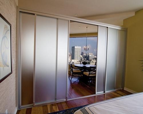 24 best images about room dividers on pinterest sliding for Sliding glass panels room dividers