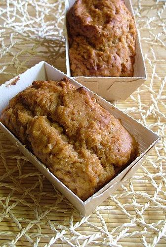 Mini cakes moelleux à la compote de pommes