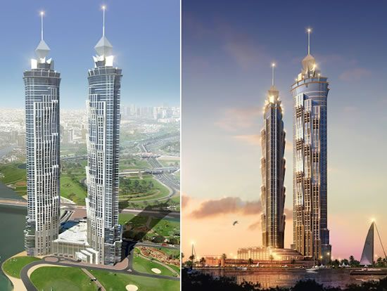 JW Marriott Marquis Dubai Tallest Hotel in the World in 2012 (no longer holds the record)