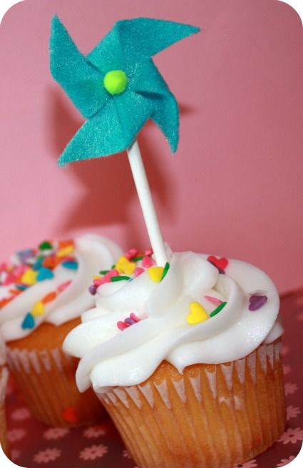 DIY Pinwheel Decorations for a baby shower or any party!