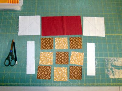 VROOMANS QUILTS: House Block Tutorial: