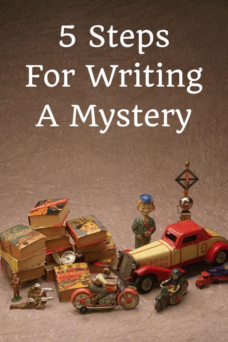 5 Steps to Write a Mystery Story