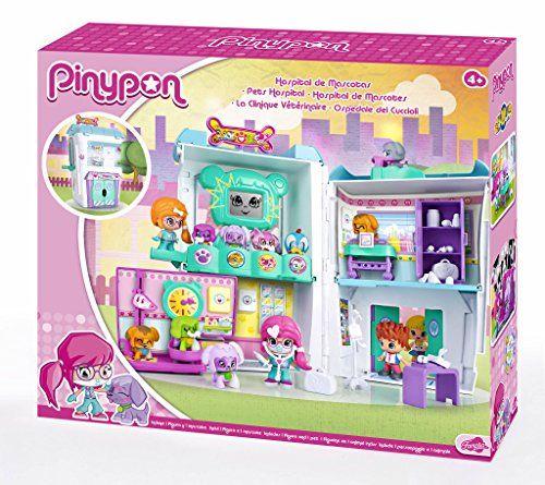 Pinypon – Hospital de Mascota, muñeca y accesorios (Famosa 700012914)