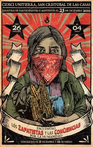 """Programa de actividades del Encuentro """"L@s Zapatistas y las ConCIENCIAS por la Humanidad"""""""