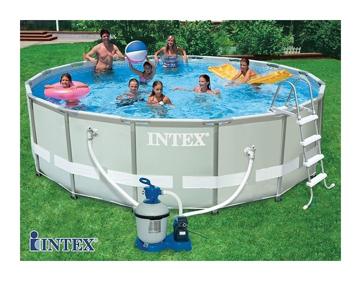 Piscine Tubulaire In 2019 Intex Pool Swimming Pools Frame