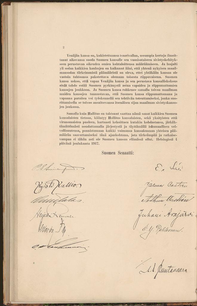 Merkittävimmät asiakirjat 1890-2009