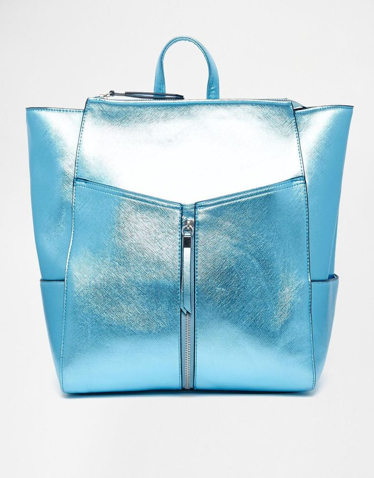 Image 1 ofNew Look Cross Hatch Formal Backpack