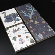 The Permian-book journal notebook-256 page-card paper cover