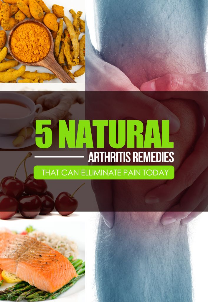 Natural Arthritis Remedies That Can Eliminate Pain Today. If you unfortunately have arthritis then you know that something is wrong with the joints in your body. Depending on what exactly is wrong with your joints relies on what type of arthritis you have. It could be because your cartilage is worn out, have a lack of synovial fluid, autoimmune infection or a combination of different causes.