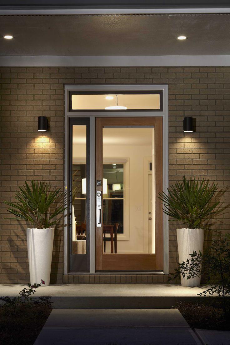 128 best modern love images on pinterest contemporary for Mid century modern exterior lighting