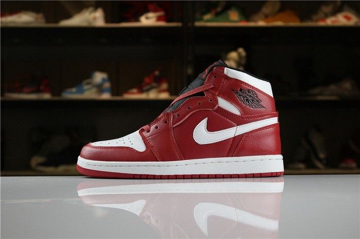 Air Jordan 1 Mid Chicago Gym Red White 554724-605 Mens and Womens Size 78f2051ba8