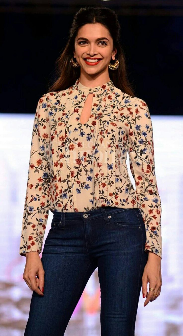 "Deepika Padukone showcasing her fashion line ""all about you"""