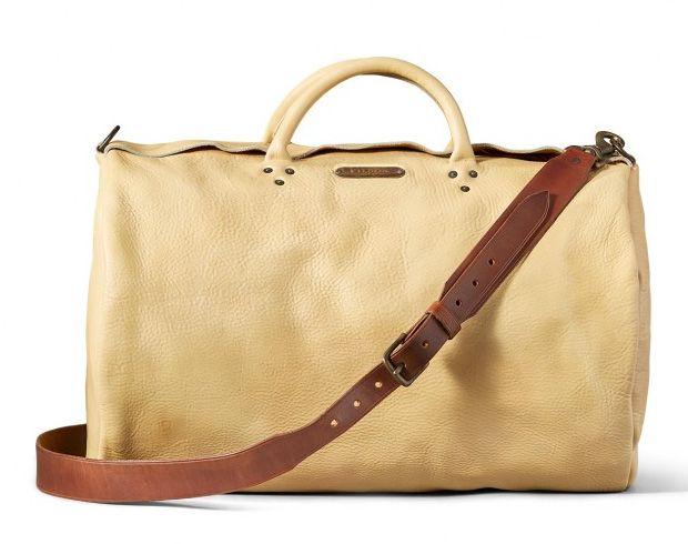 Wild Bill Leather Duffle Bag
