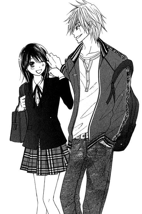 Kurosaki y Teru // Dengeki Daisy