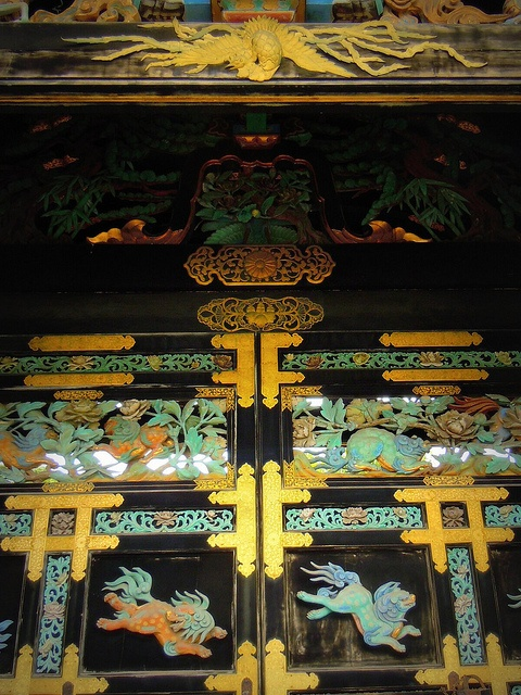 Kyoto gate of Nishi Honganji temple