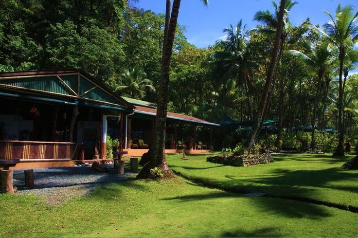 Costa Rica eco lodge at Corcovado La Leona Ecolodge