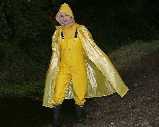 Regencape Gelb Regenmantel Mutig Regenponcho