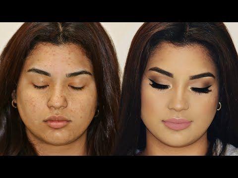 Si yo puedo maquillarme asi TU TAMBIEN PUEDES / tutorial de maquillaje sencillo facil paso a paso - YouTube