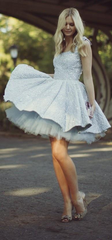 326 best Short Skirt Wedding Dresses images on Pinterest | Wedding ...