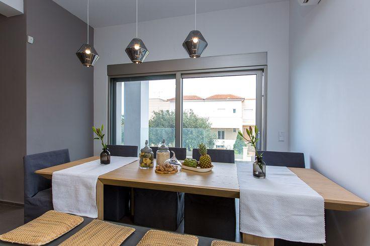Villa Kastellakia in Rethymno, Crete #villa #rethymno #crete #greece #vacation_rental #luxurious_accommodation #privacy #holidays_in_Crete #visit_greece #dining_table