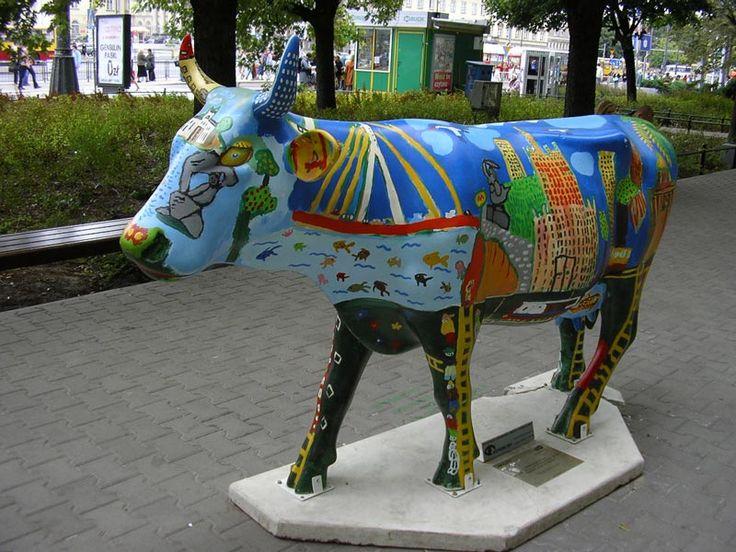 Krowa: Krovilla; Autor: Dzieci z DK Wilanow