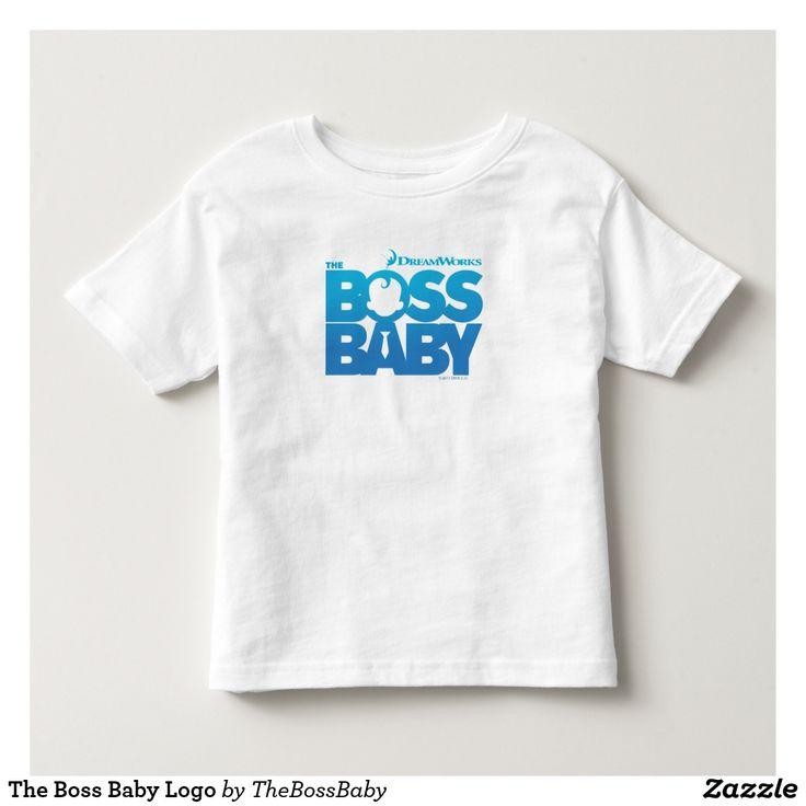 The Boss Baby Logo. Baby. Bebé. Producto disponible en tienda Zazzle. Vestuario, moda. Product available in Zazzle store. Fashion wardrobe. Regalos, Gifts. #camiseta #tshirt