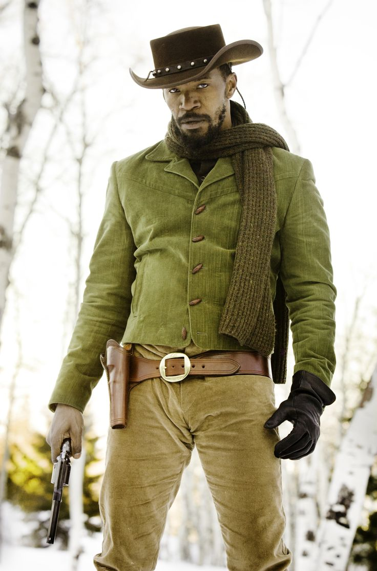 """Jamie Foxx, 2012. @ Andrew Cooper for """"Django Unchained"""" directed by Quentin Tarantino"""