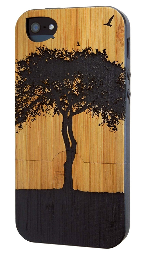 FSC certified iphone cases! Made from certified bamboo.