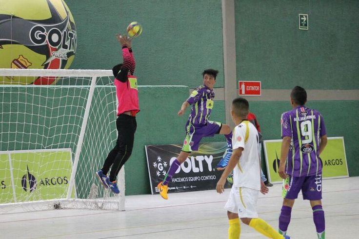Tolima SysCafé ganó en su visita a Bogotá. 4-2 sobre Cóndor. #FútbolRevolucionado #ElfutsalEsNuestro