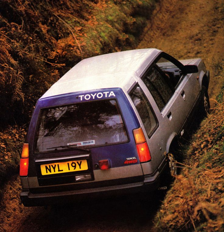 Toyota Tercel 4WD Estate UK-spec '1984–87