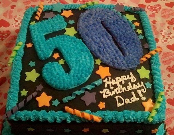 Birthday cake decorating ideas dad