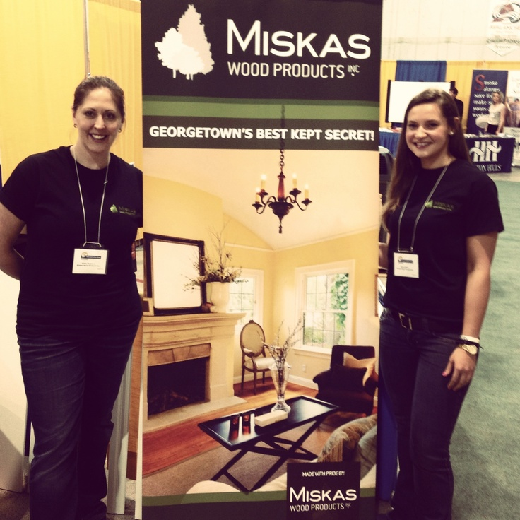 Come check out MiskasWoodProducts.com at the Halton Hills #HomeAndLeisureShow this weekend!