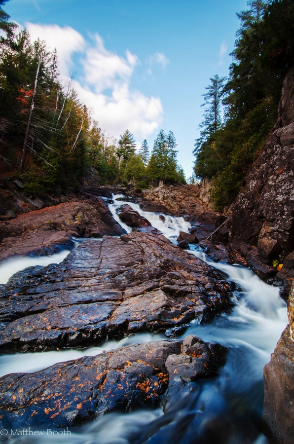 Rugged Falls, Algonquin park by Matthew Booth ~ Ontario Canada*