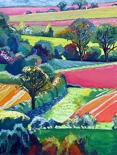 Sue Slack.  The colors are fantastic.