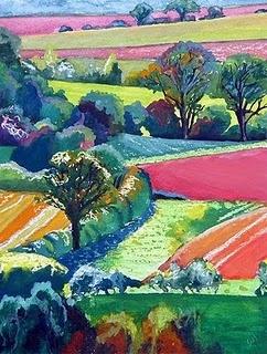 Sue Slack.  The colors are fantastic.
