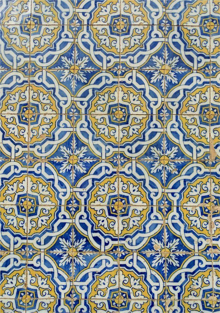 Portuguese Tiles Blue Yellow Green Lisbon Portugal Tile Travel Like A Prince Blog Blogger Freelance Writer Influencer Free Portuguese Tiles Yellow Tile Tiles
