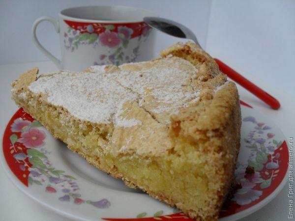 Пирог с лимоном рецепт / Рецепты с фото