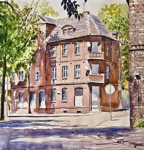 Śląsk w obrazach Jacka Prandziocha: Ruda Śląska - Bykowina
