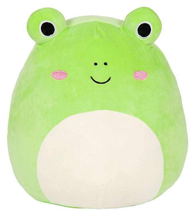 Amazon Com Squishmallow 16 Wendy The Frog Toys Games Animal Pillows Cute Stuffed Animals Cute Frogs